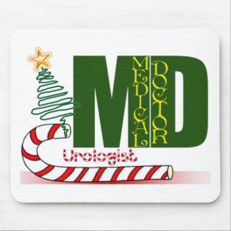 CHRISTMAS UROLOGIST - DOCTOR - MD MOUSE PAD