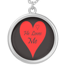Christmas Valentine Anniversary Heart Necklace at Zazzle