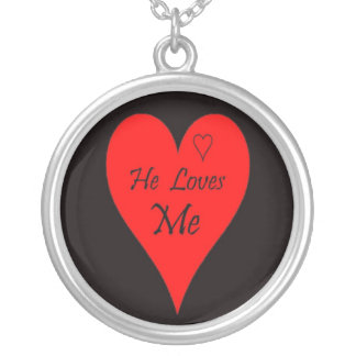Christmas Valentine Anniversary Heart necklace