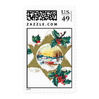 Christmas Valley Star Stamps