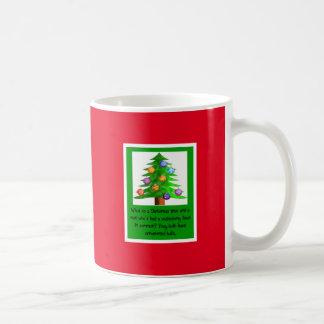 Christmas Vasectomy Balls Coffee Mug