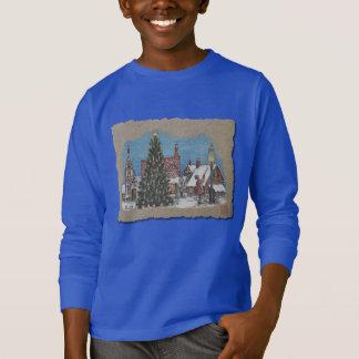 Christmas Village Lamplighter T-Shirt