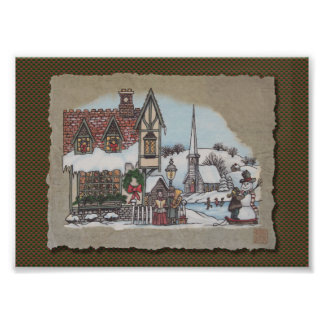 Christmas Village Photo Print