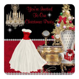 CHRISTMAS VINTAGE GLAMOUR INVITATIONS