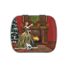 Christmas, Vintage Home, Holiday Toast Candy Tins at Zazzle