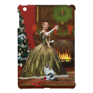 Christmas, Vintage Home, Holiday Toast Case For The iPad Mini
