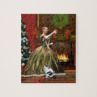 Christmas, Vintage Home, Holiday Toast Jigsaw Puzzles