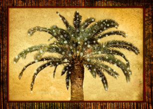 Palm Tree Christmas Cards Zazzle