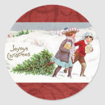 "Christmas Vintage Victorian Children Stickers<br><div class=""desc"">Christmas Vintage Victorian Children Stickers</div>"