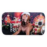 Christmas - Vizsla - Budda Samsung Galaxy S4 Cases
