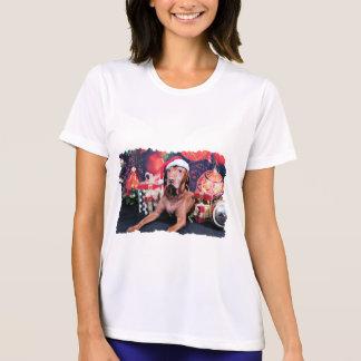 Christmas - Vizsla - Budda Tshirts