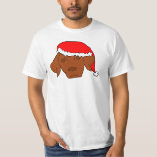 Christmas Vizsla T-Shirt