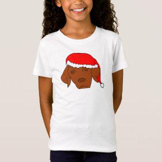 Christmas Vizsla T-Shirt