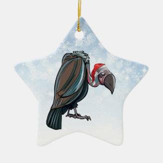 Christmas Vulture Star Ornament
