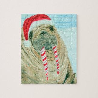 Christmas Walrus Jigsaw Puzzle