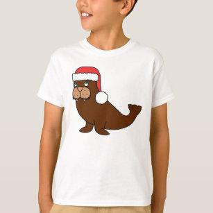 882faceeca343 Walrus Christmas T-Shirts - T-Shirt Design   Printing