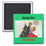 Christmas Waltz Magnet
