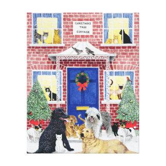 Christmas Warmth Canvas Print