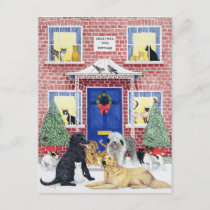 Christmas Warmth Holiday Postcard