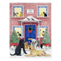 Christmas Warmth Postcard