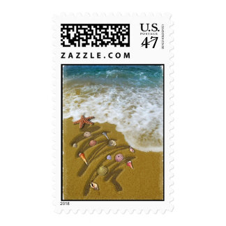 Christmas Washed Up on Shore Postage