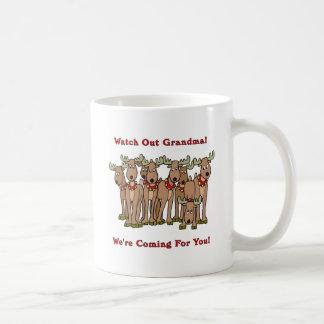 Christmas: Watch Out Grandma Coffee Mug