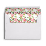 Christmas Watercolor Holly Pattern Envelope