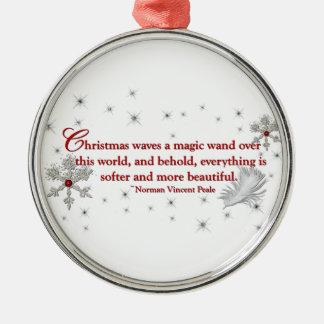 Christmas Waves a Magic Wand Christmas Tree Ornaments