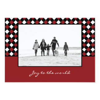 Christmas Weaves Holiday Photo Card