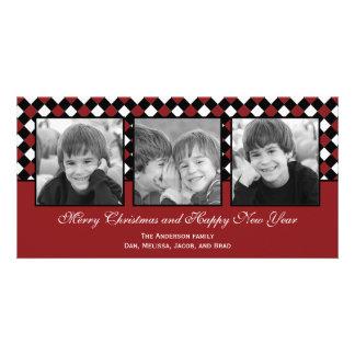 Christmas Weaves Holiday Photo Card