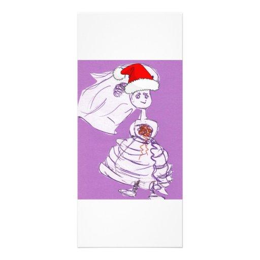 Christmas Wedding Personalized Rack Card