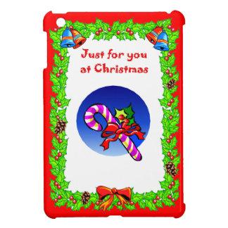 Christmas Weightlifting Santa iPad Mini Cover