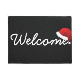 Christmas Welcome Door Mat