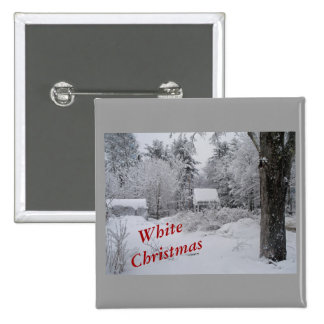 Christmas-Well House-Square Button
