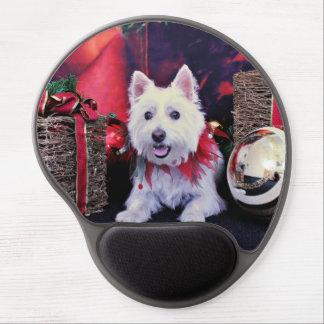 Christmas - West Highland Terrier - Madison Gel Mousepads