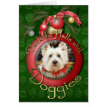 Christmas - West Highland Terrier - Polo Greeting Card