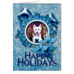 Christmas - Westie - Bella Cards
