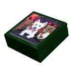 Christmas - Westie - Bella Jewelry Boxes