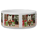 Christmas - Westie - Lucky Pet Food Bowl