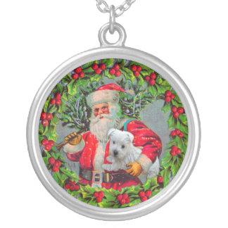 Christmas Westie Necklace