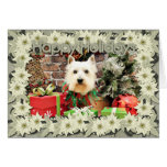 Christmas - Westie - Sammy Cards
