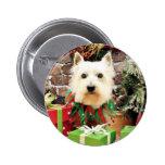 Christmas - Westie - Sammy Pin
