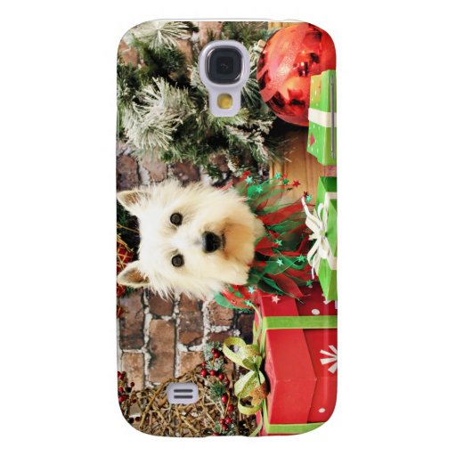 Christmas - Westie - Sammy Samsung Galaxy S4 Case