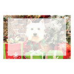 Christmas - Westie - Sammy Stationery