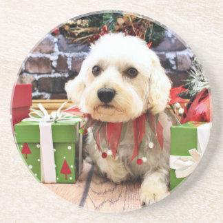Christmas - Westiepoo - Elliott Beverage Coasters