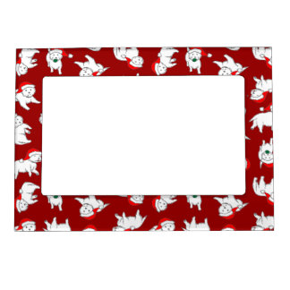 Christmas Westies Picture Frame