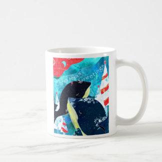 Christmas Whales: Christmas Mug