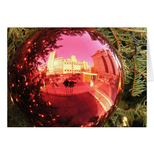Christmas. What's Going On? Greeting Card