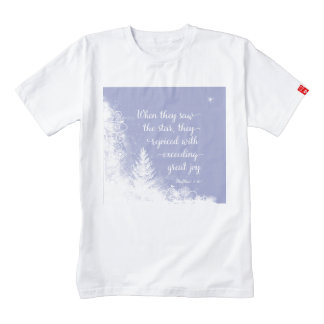 Christmas - When They Saw the Star Zazzle HEART T-Shirt