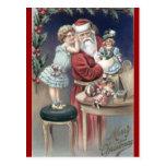 Christmas Whispers postcard